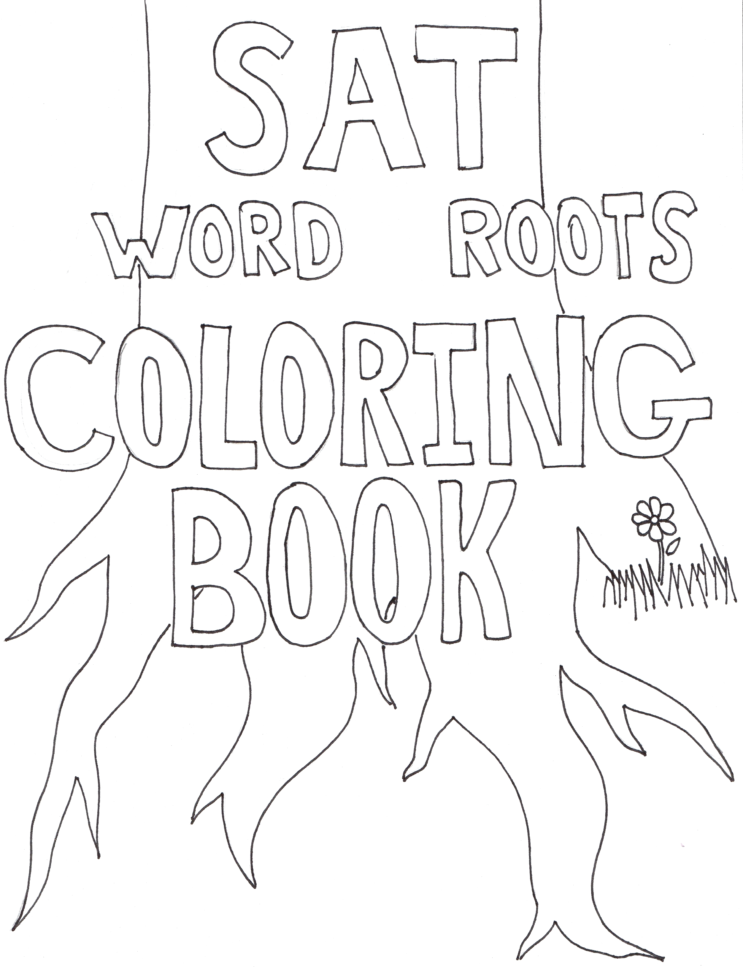 Word Roots Coloring Book | College Coached